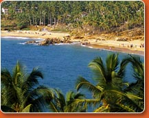 allepey beach in kerala
