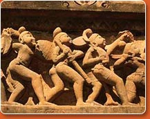 khajuraho temples - picture during classical northern india tour