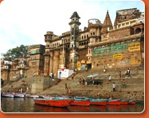 Varanasi - during classical india tours to north